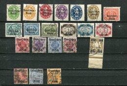 """Germany 1920 Accumulation Overprint """"DEUTSCHES REICH"""" Cv 84 Euro - Bavaria"""