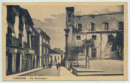 CORLEONE (PA) VIA  BENTIVEGNA 1952 - Palermo