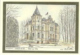 LONGUENESSE - Mairie, Illustration Ducourtioux - Longuenesse