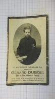 13W - Gérard Dubois élève Des écoles Chrétiennes Florennes Né Denée Avec Portrait - Obituary Notices