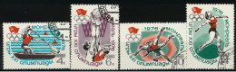 **7** - Russia & URSS 1976 - Olimpiadi Di Montreal-  Lotto 4 Val.   Oblit. - Belli - 1923-1991 URSS