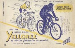 """Chaine  """"  YELLOREX   """"        -   Ft  =  13 Cm  X  21 Cm - Buvards, Protège-cahiers Illustrés"""