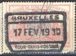 3T984: N° TR35: BRUXELLES // TOUR-TAXIS-POSTEAUX - 1895-1913