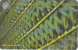 TONGA(GPT) - Textures Of Tonga 1(green), CN : 185CTGA, Tirage 15000, Used