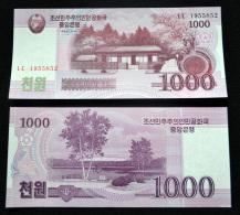 2008  Korea 1000 WON 2008 P-64a UNC BANKNOTE PAPER MONEY NORTH SOCIALISM CURRENCY ASIA - Corée Du Nord