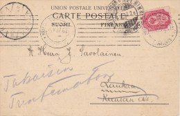 Finland; Card 1907 - 1856-1917 Administration Russe