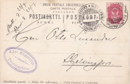 Finland; Card 1908 - 1856-1917 Administration Russe
