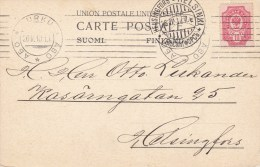 Finland; Card 1910 - 1856-1917 Administration Russe