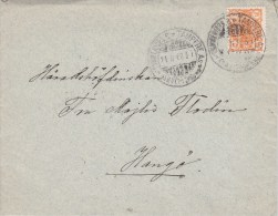 Finland; Cover 1900 W. Original Letter Inside - 1856-1917 Administration Russe