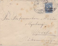 Finland; Cover To Sweden 1910 - 1856-1917 Administration Russe