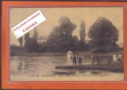 Carte Postale 59. Roubaix  Parc Barbieux  Bassin Aux Cygnes Trés Beau Plan - Roubaix