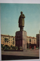 UKRAINE. LUGANSK. Lenin Monument   OLD PC. 1969 - Monuments