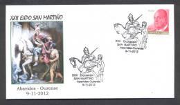 6.- 017 SPAIN ESPAGNE 2012. SAINT MARTIN. ABAVIDES OURENSE.  HORSE - Christendom
