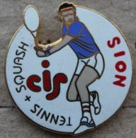TENNIS & SQUASH CIS - SION VALAIS - SUISSE - JOUEUR -   (7) - Tennis