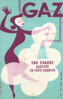 """Eau Chaude  Avec Le  """"  Gaz  """"    - Ft  =  13 Cm  X  21 Cm - Electricité & Gaz"""