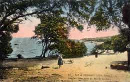 85 -NOIRMOUTIER- Bois De La Chaize-couleur -animée - Noirmoutier