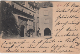 Graz, - Burgthor - To Rubbia 1898 Used - 1850-1918 Empire