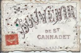 13 - Souvenir De SAINT-CANNADET - Autres Communes