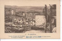 En MACEDOINE - Femmes Grecques Des Campagnes En Réunion Le Dimanche - Macédoine