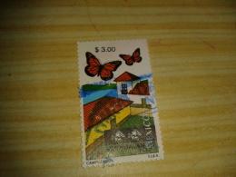 Timbre Mexique Papillons (3.00) - Mexique