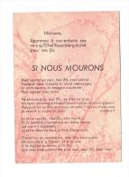 """Ethel ROSENBERG. Appel De """"Union Des Femmes Françaises"""" - Geschichte"""