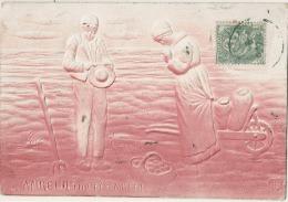 L'angelus D'après Millet  Relief TB - Peintures & Tableaux