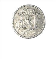 Luxembourg - 10 Centimes - 1954 - Alu - TB - Luxemburgo