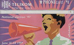 "PAPUA NEW GUINEA - National Election ""97/Campaign, CN : 708B, Used - Papua New Guinea"