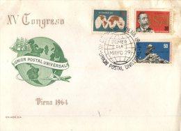 (334) Cuba Island - Ile De Cuba - FDC Cover  - UPU Congress - 1964 - U.P.U.