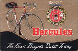 - Notice De 28 Pages Sur Les Cycles HERCULES - 090 - Sciences & Technique