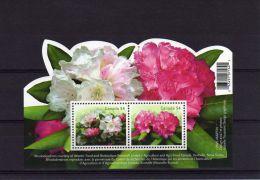 2009 Canada, Flowers Rhododendrons Souvenir Sheet MNH - 1952-.... Règne D'Elizabeth II