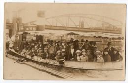 Ca1900  Photo Hamburg Haffen Tour In Schiffe Boat Bridge Postcard Carte Postale  Vintage Original  Cpa Ak (W3_2633) - Deutschland