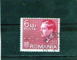 1936-  Expo. Luna Bucurestilor  Mi = 508 Et Yv 497 - Usado