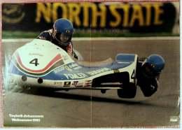 Kleines Motorrad Poster :  Taylor & Johannson  Weltmeister 1980  -  Ca. 1980 Aus Der Pop-Rocky - Motorräder