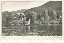 BOHINJ, Hotel Pod Vogelom Na Obali Jezera, Lake, Sailboat,SLOVENIA, Ph. Pogacnik , Bohinjsko Jezero,old  Postcard - Slovenia