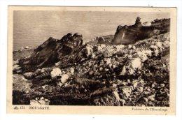 Cp , 14 , HOULGATE , Falaises De L'HERMITAGE , Ed : CAP , 171 , Voyagée - Houlgate