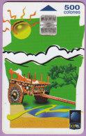 Télécarte Costa  Rica °° Icetel  Charette Typique  .  500 Colones  .  01-99  °  T  B  E - Costa Rica
