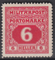 OOSTENRIJK - Michel - 1916 - Nr 17 (Bosnie-Herzegowina/Port) - MH* - Levant Autrichien