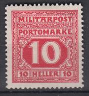 OOSTENRIJK - Michel - 1916 - Nr 18 (Bosnie-Herzegowina/Port) - MH* - Levant Autrichien
