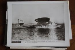 Photo Avion Hydravion 1930 Latecoere 521 Record Du Monde De Vitesse - Aviation