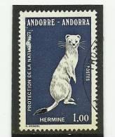 ANDORRA-CORREO FRANCES Este SELLO  O SIMILAR  CON TAMPON DE PRIMER DIA YVERT Nº 260 - Andorra Francese