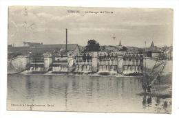 Vierzon  (18) : Le Barrage De L'Yèvres En 1916 (animé)   PF. - Vierzon