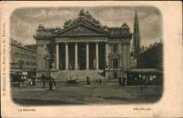 Bruxelles -  La Bourse / Edit. Blümlein & Co, Francfort 1901 - Zonder Classificatie