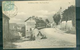 AUVERS Sur OISE - Rue Victor Hugo. - Abn37 - Auvers Sur Oise