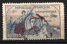 """FR Aerien Précurseur Dallay """" Vignette Guynemer """" 1920 Oblitéré - Erinnophilie"""