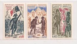 /FRANCE    ( D15 - 1927 )   1972  N° YVERT ET TELLIER   N° 1729/1731   N** - Neufs