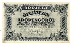 Hongrie Hungary Ungarn 50000 AdoPengorol 1946 AUNC / UNC # 3 - Hungary