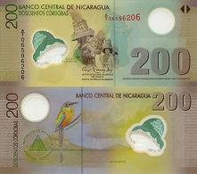 NICARAGUA 200 CORDOBAS 2007 (2012) P-205-new UNC - Nicaragua