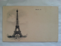 Paris-le Tour Eiffel - Arc De Triomphe
