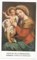 Maria SS Della Misericordia - Venerata A Mondavio - B1 - Devotion Images
